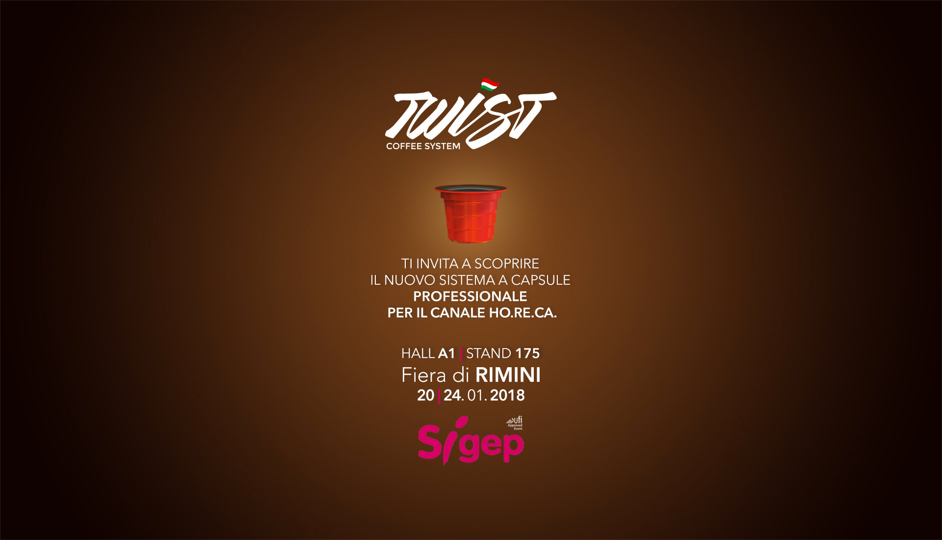 Twist coffee system